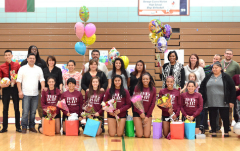 Mustang girls volleyball comes to an end