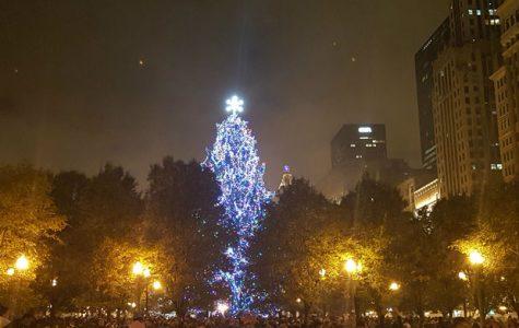 Oh Tannenbaum lights Chicago