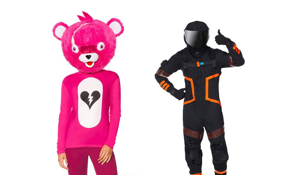 Fortnite costumes are probably going to be popular this year.