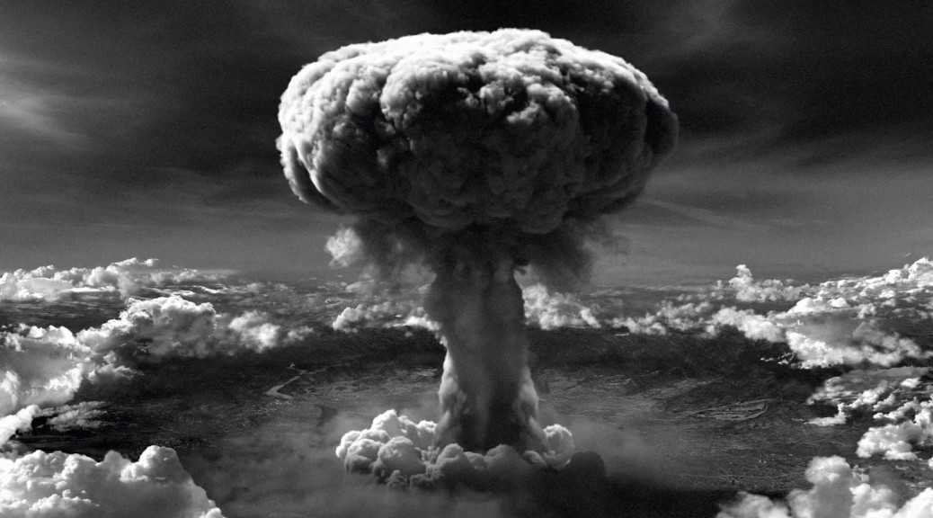 A real horror would be living through the dropping of an atomic bomb -- which happened in Nagasaki on August 6, 1945.