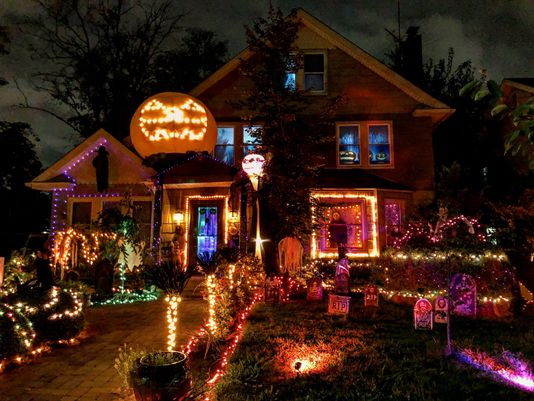 Most decorated Halloween House