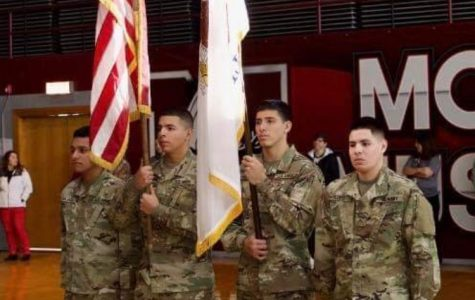 Morton East enlistees pay homage to veterans at Morton West Veteran's Day celebration