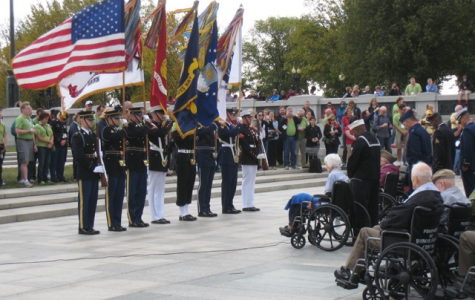 Honor Flight Network lifts veterans up for tribute