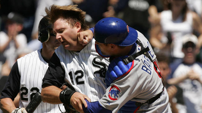 Fortunately%2C+East+fans+don%27t+get+into+a+brawl+when+it+comes+to+the+crosstown+rivalry+of+the+Chicago+Cubs+and+White+Sox.++