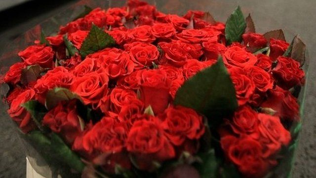 Think about buying yourself a big bouquet of red roses.  You deserve it.