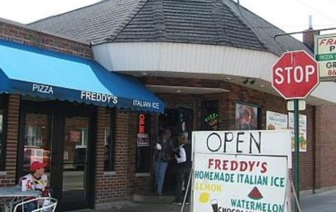 Freddy's Pizza:  a slice of history, with pizza