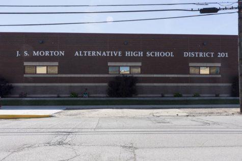 Morton Alternative High School located in Cicero, IL on 54th. Ave.