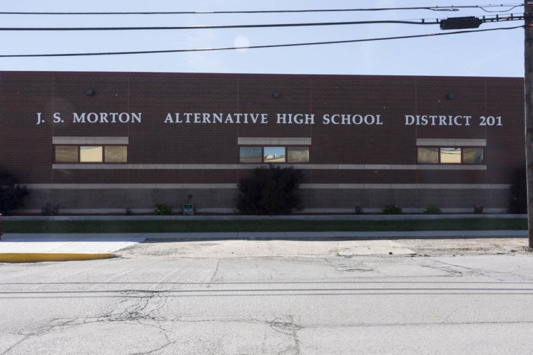 Morton Alternative High School located in Cicero, IL on 54th. Ave.