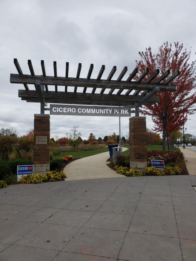 Isaac Carlos took a picture of the Cicero Community Park.