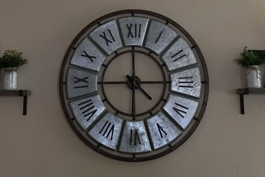 This is my Aunt's Clock in her house.