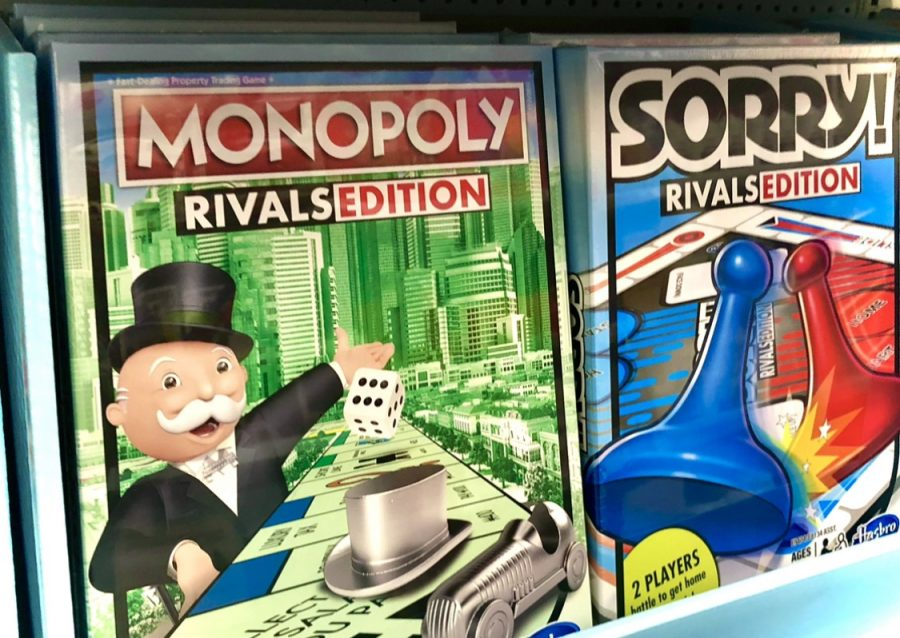Monopoly was the top favorite board game for students. Sorry was the 3rd favorite board game.