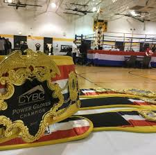 Boxers vie for the championship belt.