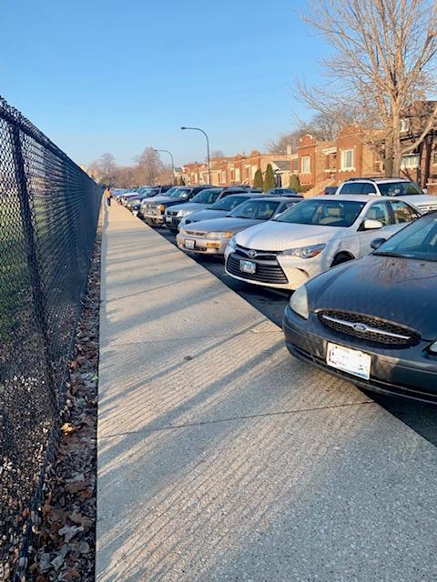 Parking issue strikes Morton East High school