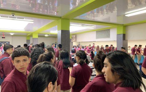 Photo Essay: Lunchroom Routine
