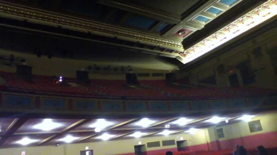 Chodl auditorium at Morton East is supposedly haunted by a former theater director -- who died the night of a premier.
