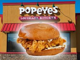 Popeye's wins fried chicken war