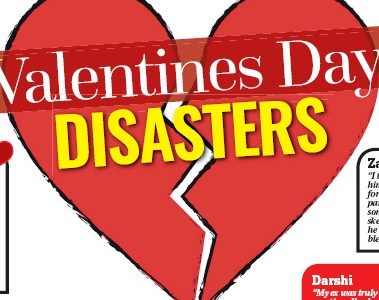 Valentine's disaster for many