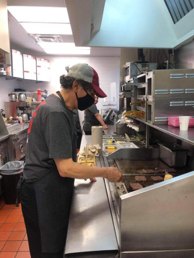 Philly is working hardly at Wendys and ready to chase the bag