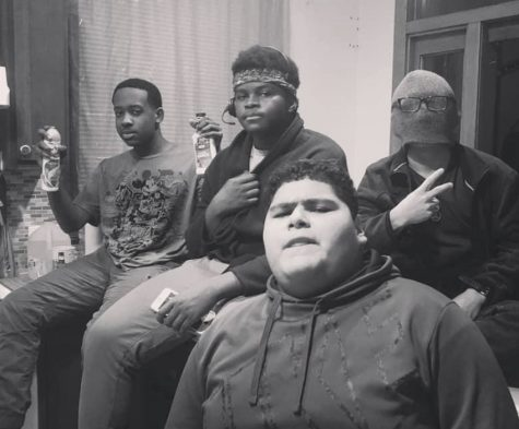 My friends & I chilling worry free of Covid-19 before it was a thing