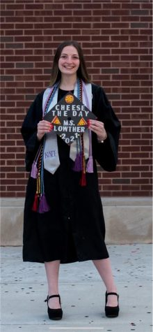 Ms. Lowther finished teaching at Morton East High school.  Picture credits to Everynothing studio