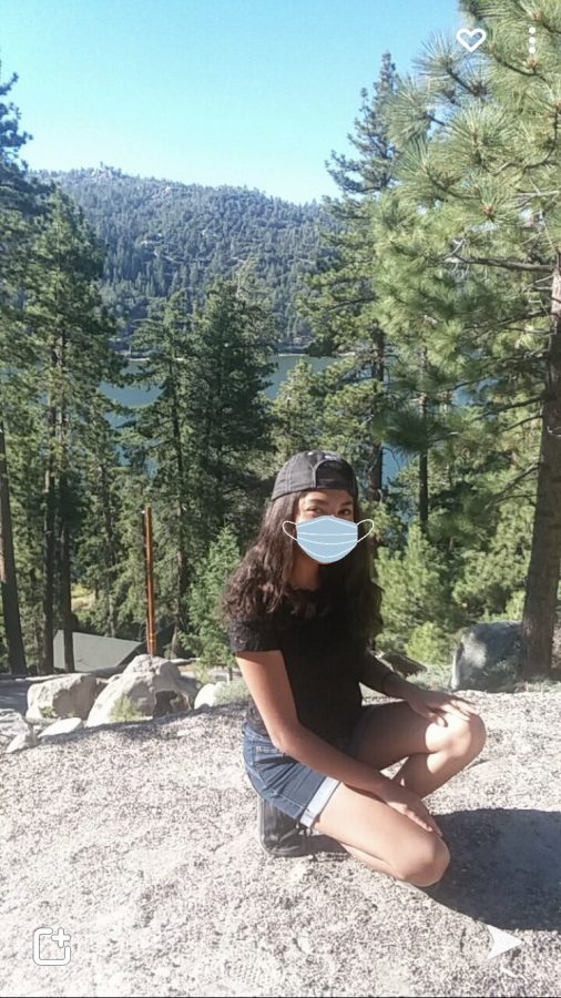 Wear your mask and kepp your distance!!! Big Bear Lake, California.